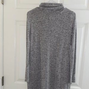 Forever 21 Grey Turtleneck Sweater Dress